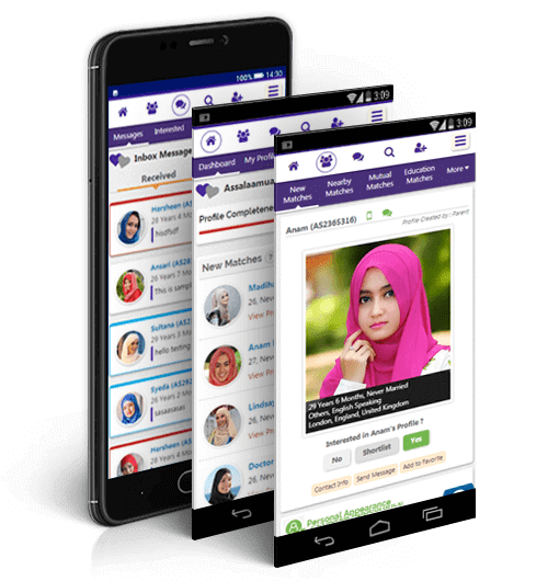 Arab Muslim Matrimonial Mobile Site
